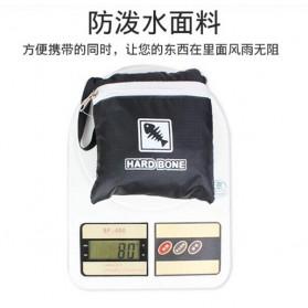 Hard Bone Tas Hiking Foldable Waterproof 18L - 1619 - Black - 2