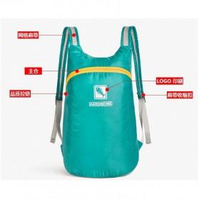 Hard Bone Tas Hiking Foldable Waterproof 18L - 1619 - Black - 4
