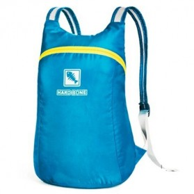 Hard Bone Tas Hiking Foldable Waterproof 18L - 1619 - Blue