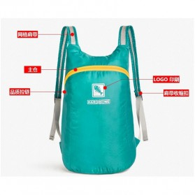 Hard Bone Tas Hiking Foldable Waterproof 18L - 1619 - Blue - 5
