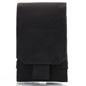 Tas Pinggang Smartphone Tactical Holster - HW1252-01 - Black