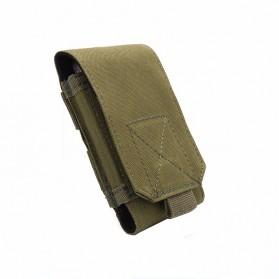 Tas Pinggang Smartphone Tactical Holster - HW1252-01 - Black - 3