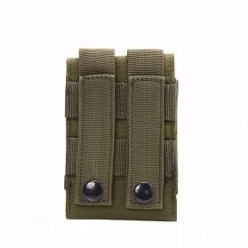 Tas Pinggang Smartphone Tactical Holster - HW1252-01 - Black - 4
