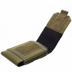 Tas Pinggang Smartphone Tactical Holster - HW1252-01 - Black - 5