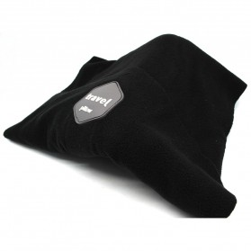 TaffSPORT Bantal Selimut Leher Travel Pillow Unisex - NF302 - Black - 2