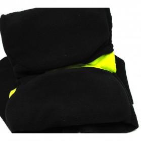 TaffSPORT Bantal Selimut Leher Travel Pillow Unisex - NF302 - Black - 3