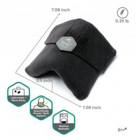 TaffSPORT Bantal Selimut Leher Travel Pillow Unisex - NF302 - Black - 8