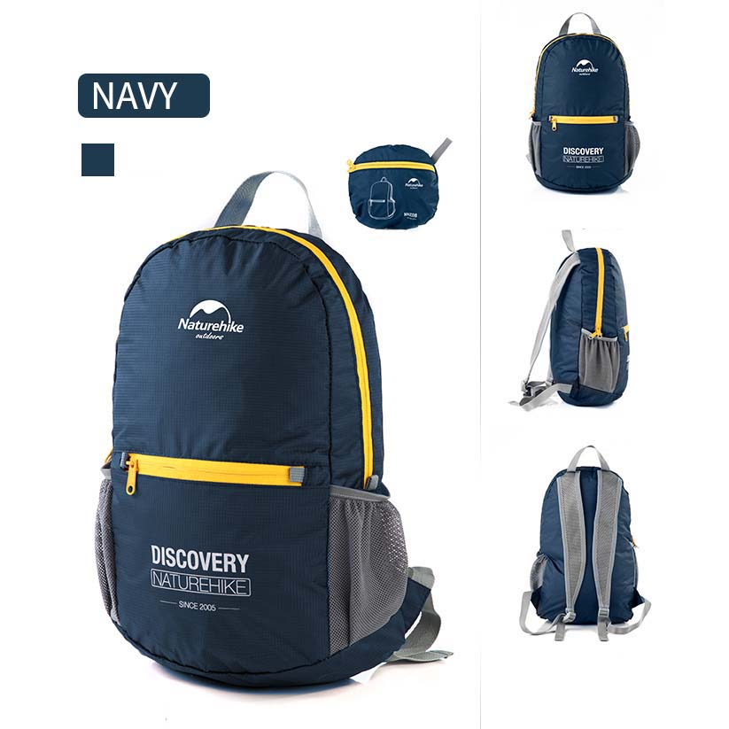 ... NatureHike Tas Ransel Backpack Lipat Sporty 15L - Navy Blue - 1 ... 9856b300ac