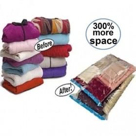 TintonLife Plastik Vacuum Baju Laundry Size 80x60cm - YK-1000 - Transparent