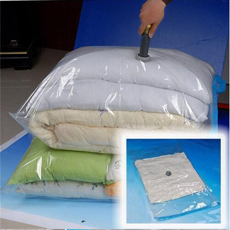 Plastik Vacuum Baju Laundry Size 80x60cm Yk 1000