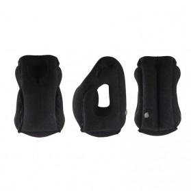 XC USHIO Bantal Travel Inflateable Body Back Support - 0707006 - Blue - 5