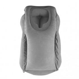 XC USHIO Bantal Travel Inflateable Body Back Support - 0707006 - Blue - 6