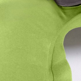 Bantal Leher U-Shape Inflatable Air Blow Up - Blue - 6