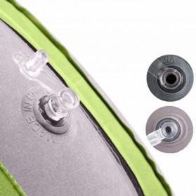Bantal Leher U-Shape Inflatable Air Blow Up - Blue - 7