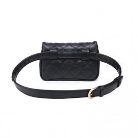 Tas Pinggang Wanita Luxury Waist Bag - 1534 - Blue - 3