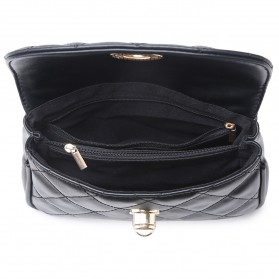 Tas Pinggang Wanita Luxury Waist Bag - 1534 - Blue - 5