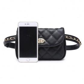 Tas Pinggang Wanita Luxury Waist Bag - 1534 - Blue - 7