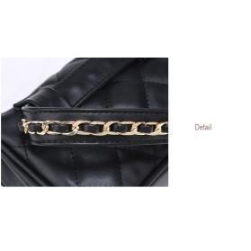 Tas Pinggang Wanita Luxury Waist Bag - 1534 - Blue - 9