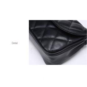 Tas Pinggang Wanita Luxury Waist Bag - 1534 - Blue - 10