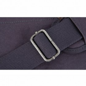 Muzee Tas Duffel Travel 3 in 1 dengan USB Charger Port - ME-1067 - Blue/Black - 8