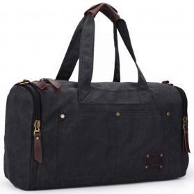 MUZEE Tas Jinjing Duffel Bag Travel - ME-9666 - Black