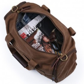MUZEE Tas Jinjing Duffel Bag Travel - ME-9666 - Black - 2