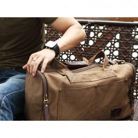 MUZEE Tas Jinjing Duffel Bag Travel - ME-9666 - Black - 3