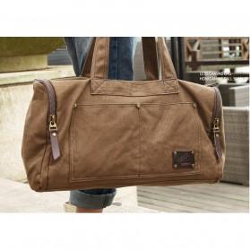 MUZEE Tas Jinjing Duffel Bag Travel - ME-9666 - Black - 4