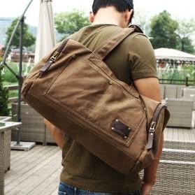 MUZEE Tas Jinjing Duffel Bag Travel - ME-9666 - Black - 5