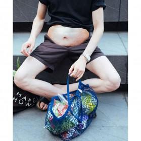 Tas Pinggang Model Perut Buncit Fat Belly Fanny Pack - Black - 4