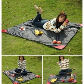 Matador Tikar Piknik Lipat Picnic Beach Pad Mat Waterproof Nylon 150x110cm - Black