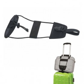 Elastic Strap Tali Koper Telescopic Travel - Black