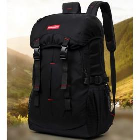 Paket Travelling - Tas Gunung dan Botol 750ml - Black