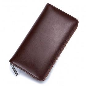 Dompet Kartu Model Panjang Klasik - Brown