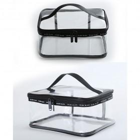 Tas Kosmetik Travel PVC Transparant Size M - Transparent - 3