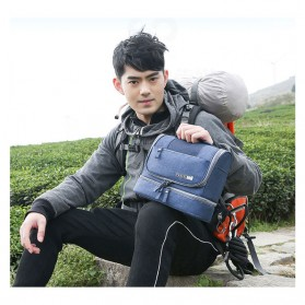 Tas Organizer Kosmetik Peralatan Mandi Travel Carry On - Black - 5