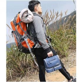 Tas Organizer Kosmetik Peralatan Mandi Travel Carry On - Black - 9