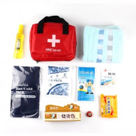 First Aid Kit P3K Pertolongan Pertama - Red - 1