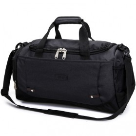 JILIPING Tas Travel Gym Duffle Bag Portable - JXY1293 - Black - 1