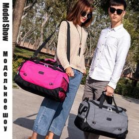 JILIPING Tas Travel Gym Duffle Bag Portable - JXY1293 - Black - 4