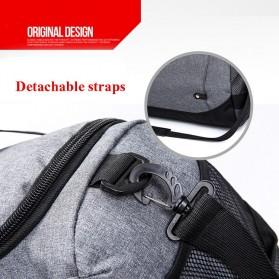 JILIPING Tas Travel Gym Duffle Bag Portable - JXY1293 - Black - 5