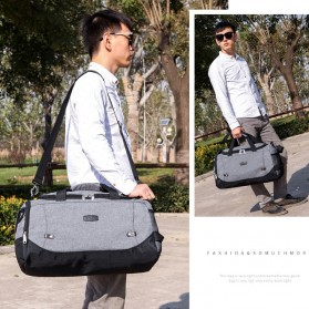 JILIPING Tas Travel Gym Duffle Bag Portable - JXY1293 - Black - 6