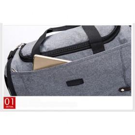 JILIPING Tas Travel Gym Duffle Bag Portable - JXY1293 - Black - 8
