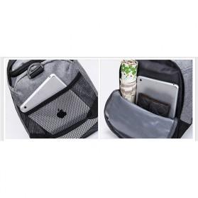 JILIPING Tas Travel Gym Duffle Bag Portable - JXY1293 - Black - 9