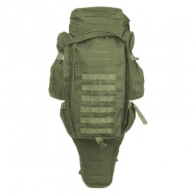 Tas Ransel Outdoor Hiking Camping Military 60L - 8045DLX - Green