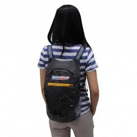 JakartaNotebook Tas Gunung Lipat Waterproof 17L - Black - 2