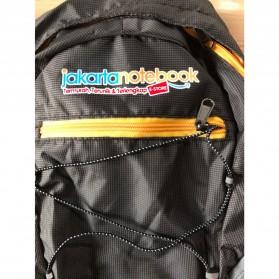 JakartaNotebook Tas Gunung Lipat Waterproof 17L - Black - 4