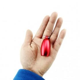 Botol Obat Pill Travel EDC Alumunium Waterproof - BW2503428 - Black - 4