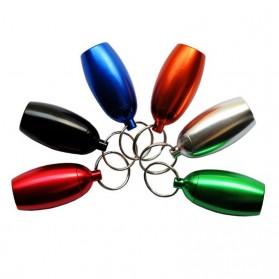 Botol Obat Pill Travel EDC Alumunium Waterproof - BW2503428 - Black - 5
