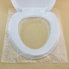 Gappo Travel Disposable Toilet Seat Cover / Alas Toilet 50 PCS - JJ3698 - White - 2